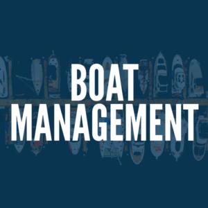 Boat Management or Yacht Management